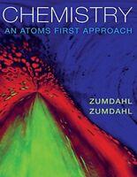 Chemistry : An Atoms First Approach by Susan A. Zumdahl and Steven S. Zumdahl...