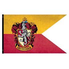Harry Potter New * Gryffindoor Outdoor Flag * 30 x 60 Weatherproof Banner