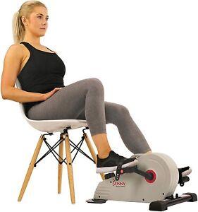 Sunny Health and Fitness Under Desk Bike Pedal Exerciser Desk Elliptical Mini