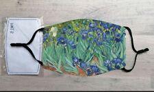 Irises face mask (Vincent Van Gogh)