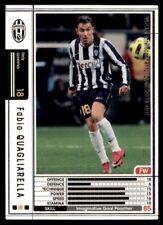 Panini/Sega (Japan) WCCF (2010-2011) Fabio Quagliarella (Juventus) No. A16
