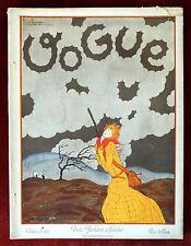 Vogue Magazine ~ October 15th, 1924 ~ George Lepape Paris Fashion