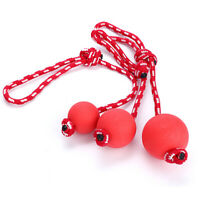 Indestructible Dog Ball on a Rope for Pet Puppy Toys Tug Balls Pet Chew Toys