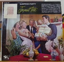 "SURPRISE PARTY ""JOYEUSE FÊTE""  WITH  STICKER CALENDAR FRENCH LP"