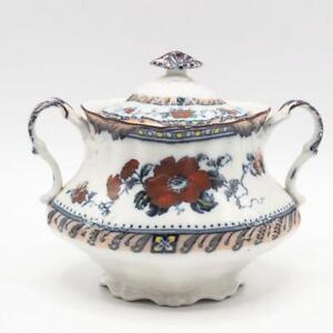 Vintage Staffordshire Festoon Royal Pottery Lidded Bowl Tureen