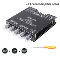 2 * 50W + 100W Bluetooth 5.0 Stereo-Hifi-Verstärkerplatine TPA3116 Audio ModuXUI