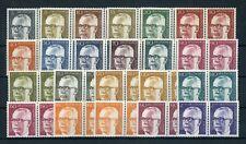 BERLIN Nr.359-370 ** PAARE u.a. HEINEMANN KOMPLETT ME 60,-++ !!! (132542)