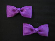baby girl hair accessories purple bow clips small