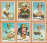 1978 Topps San Diego Padres Team Lot Dave Winfield Rollie Fingers Oscar Gamble
