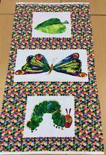 MAKOWER - The Very Hungry Caterpillar 3 Imagen Panel - 100% Algodón - 60cms