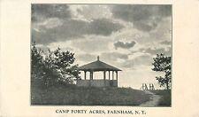 A View of Camp Forty Acres, Buffalo Ywca, Farnham Ny