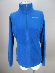 Columbia Interchange Size XL Boys Blue Full Zip Omni-Heat Fleece Jacket 891