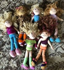 Huge Lot of Groovy Girl Dolls Collection Vanity Beds Horse & 6 Dolls
