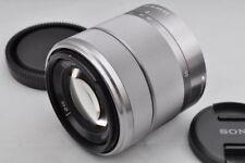 Silber SEL1855 18-55 mm F/3.5-5.6 OSS E Objektiv für sony mirrorless kameras