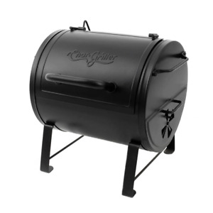 Char-Griller Portable Table Top Charcoal Grill Side Fire Box Black Cooking New