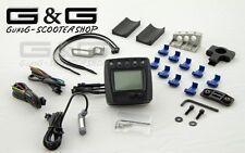 Universal LCD Digital Tachometer KOSO Tacho mit CE für Motorrad Roller Quad ATV