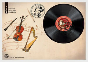Stamps Spain 2020 - Music Genres - Classical - First Day Cover
