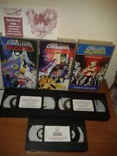 LOS CABALLEROS DEL ZODIACO SAINT SEIYA 3 OVAS TOEI 88 VHS ANIME MANGA PAL ESPAÑA