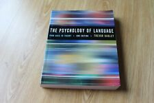 The Psychology of Language: From Data to Theory by Trevor A. Harley (Paperback,