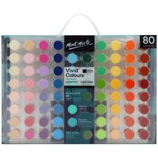 Mont Marte PMHS0051 Signature Vivid Colours Acrylic Paint Set - 80 Piece