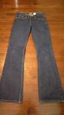 Levis Silvertab Womens Jeans 5 Long Boot Cut Dark Wash