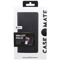 Case-Mate Rugged Wallet Folio Cover For Samsung Galaxy Note 10 Plus - Black