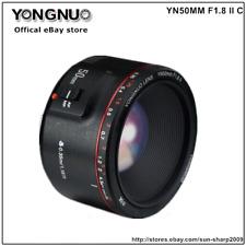 YONGNUO YN50MM F1.8 II Auto & manual Focus Lens For Canon EF EOS Camera