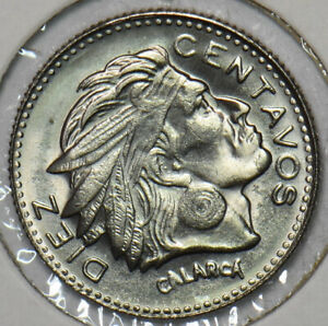 Colombia 1959 10 Centavos Eagle animal 196087 combine shipping