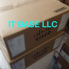 NEW SEALED Cisco WS-C3560X-48P-L 48 10/100/1000 Ethernet PoE+ ports w/ 715W AC
