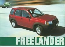 1997 LAND ROVER FREELANDER brochure italiano Softback - Hardback - SW 5 porte