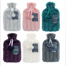 Hot water Bottles Faux Fur/Knitted/Fleece cover