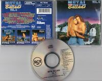 Metal Ballads Vol. 4 CD-Compilation HOUSE OF LORDS Scorpions LITA FORD OSBOURNE