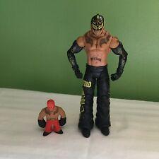 WWE WWF MATTEL REY MYSTERIO WRESTLING FIGURE WITH RUMBLER FIGURE 619 SHIPS FREE