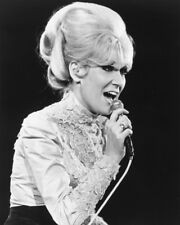 Dusty Springfield B&W In Concert 60'S Rare 16x20 Canvas Giclee