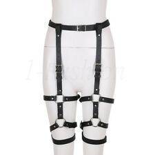 Sexy Steampunk Unterhosegürtel Bein String Gürtel Halter Harness Band Damen Neu