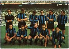 Cartolina Squadra Inter Football Club 1967/68