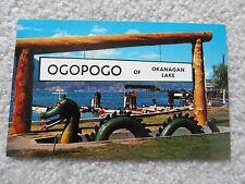Ogopogo of Okanagan Lake   Postcard