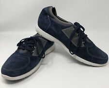 Toto Navy Blue Sneakers Invisible Height Increasing Elevator Men's 12 C11016