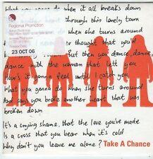 (FI316) The Magic Numbers, Take A Chance - 2006 DJ CD