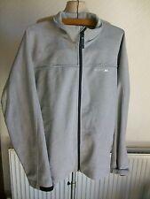 Trespass Zipped Grey Jacket, Breathable, Waterproof, Windproof, Size Large