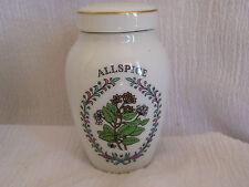 "NEW Franklin Mint Gloria Vanderbilt Concepts Spice Jar Allspice 3 1/4"" Retired"