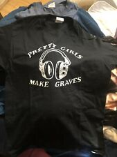 *Rare* Pretty Girls Make Graves Headphones Shirt M