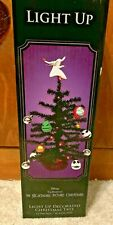 "Nightmare Before Christmas 15"" Black Light Ip Decorated Character Tree"