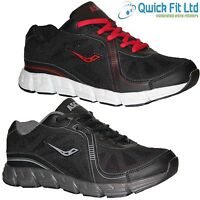 NEW MENS RUNNING TRAINERS GYM JOGGING WALKING SHOCK ABSORBING SPORTS SHOES SIZES