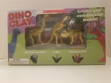 Dino clay- Create Your Own Dinosaur Models! By Scholastic