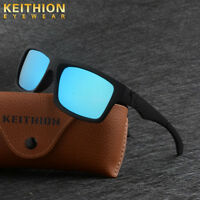 New Polarized Mens Sunglasses Outdoor Sports Square Eyewear Driving Glasses