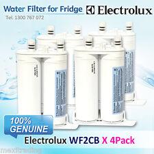 4 x genuine wf2cb electrolux fridge water filter part 240396407k