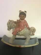 "All Gods Children ""Sally"" Polyresin African American w/COA 4.5"" H - 1507 / 96"
