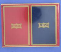 Vintage Two Decks Frisco Congress Playing Cards in Original Box Cel-U-Tone