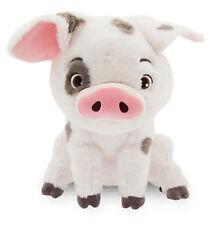 "2017NEW Authentic Disney Store Moana pet pig Pua Stuffed Plush doll 7""gift"